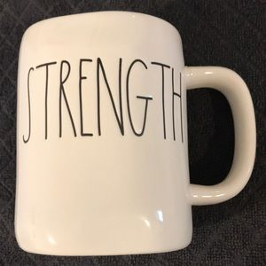 Rae Dunn Strength mug